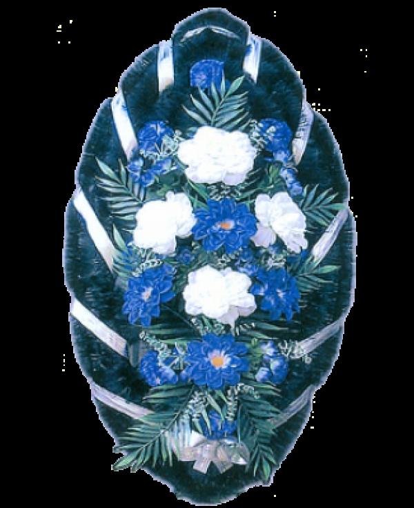 Венок из искусственных цветов Стандарт 110-1