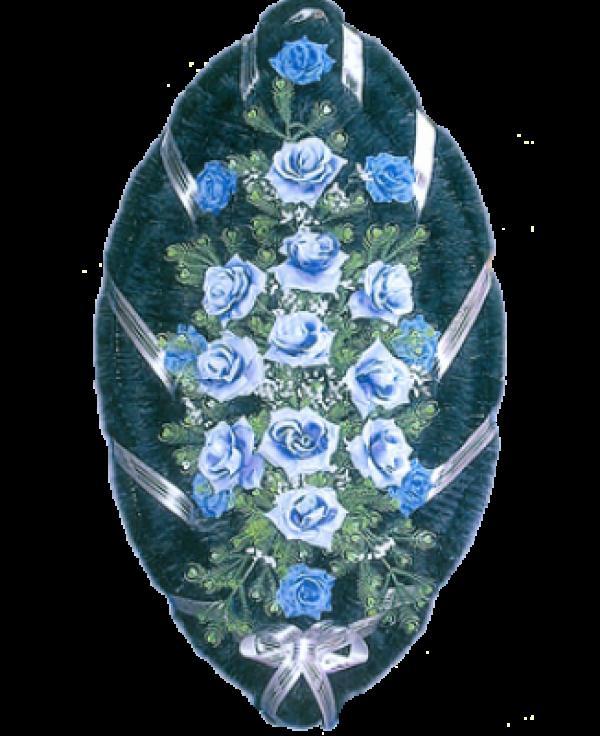Венок из искусственных цветов Стандарт 110-3