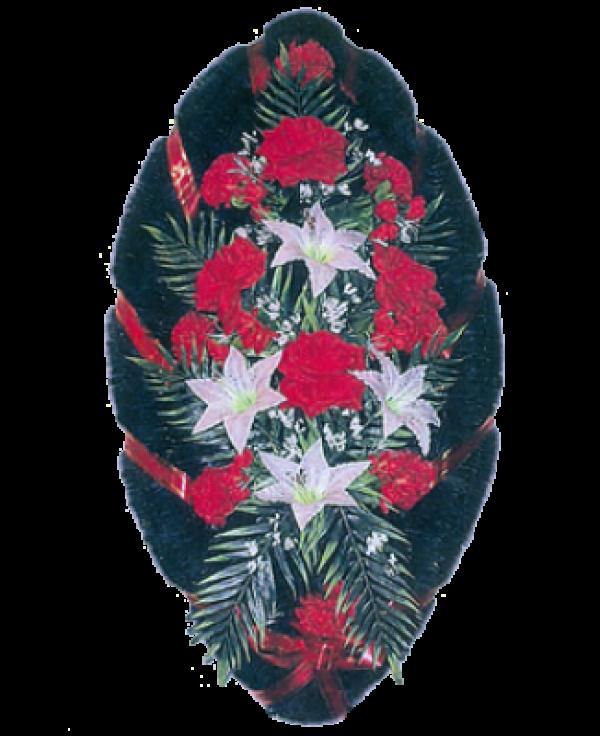 Венок из искусственных цветов Стандарт 110-7