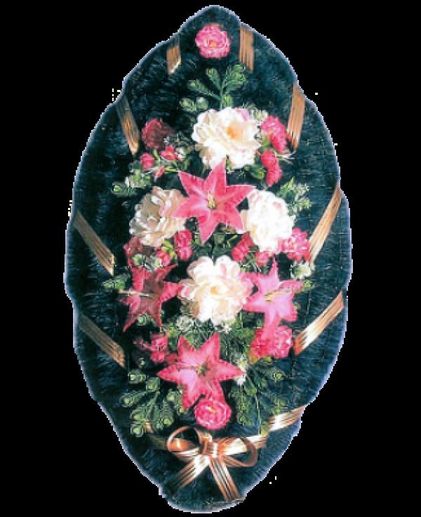 Венок из искусственных цветов Стандарт 110-8