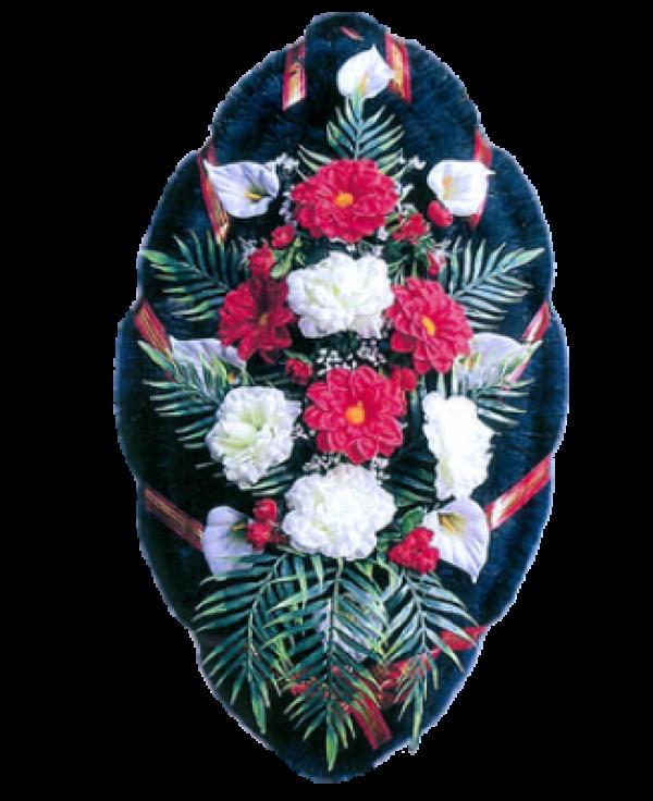 Венок из искусственных цветов Стандарт 110-10