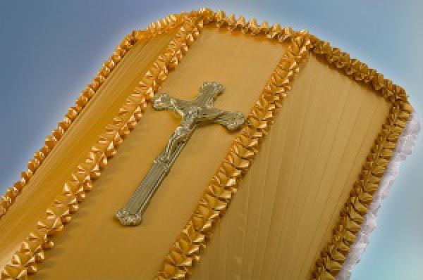 Крест на гроб средний №2