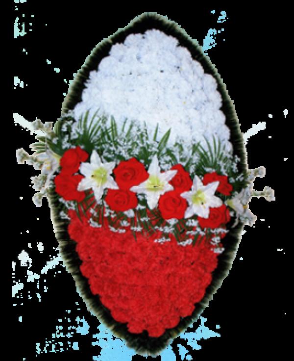 Венок из искусственных цветов Заказ 140-1