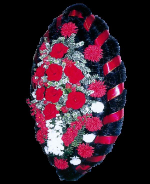Венок из искусственных цветов Заказ 140-8