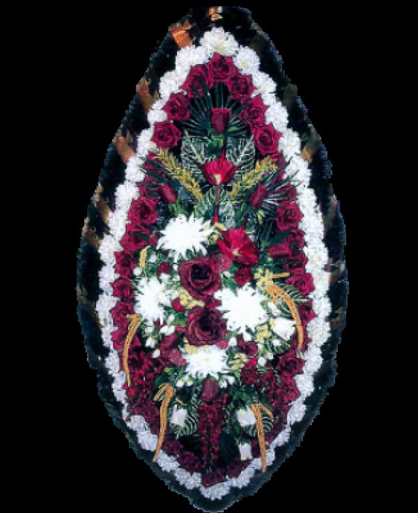Венок из искусственных цветов Заказ 180-1