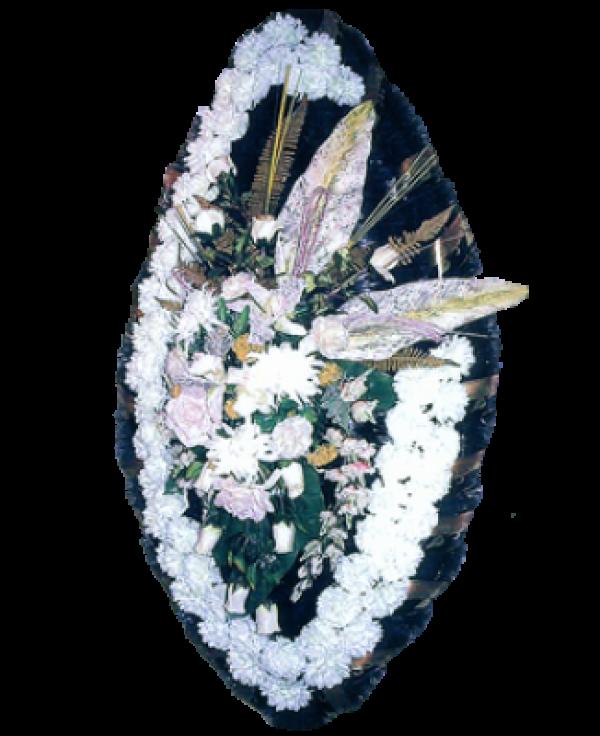 Венок из искусственных цветов Заказ 180-2