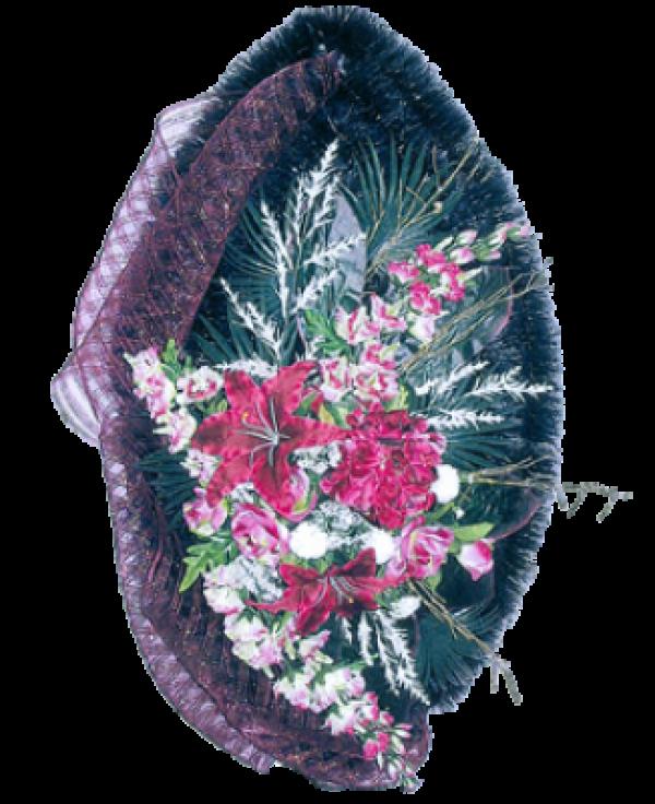 Венок из искусственных цветов Элит 110-4
