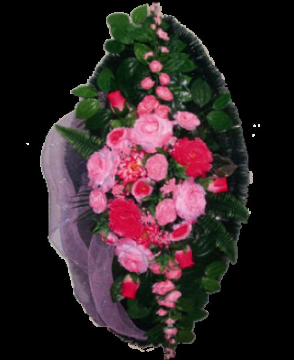 Венок из искусственных цветов Элит 110-5