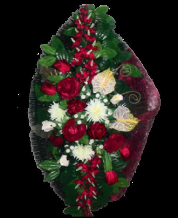 Венок из искусственных цветов Элит 110-6