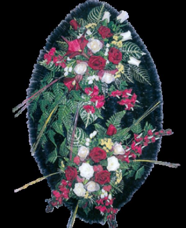 Венок из искусственных цветов Элит 140-1