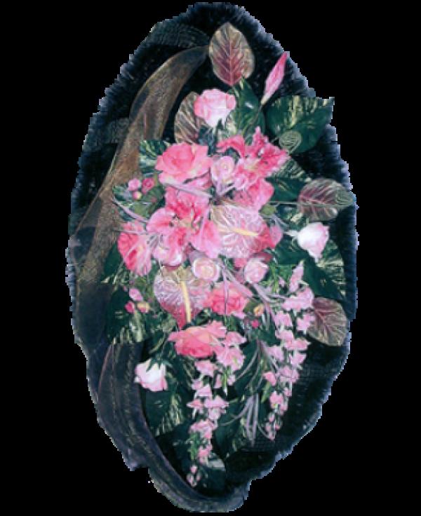 Венок из искусственных цветов Элит 140-2