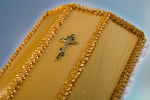 Крест на гроб малый №1