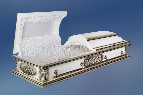 """Гроб """"Вегас"""" белый"""
