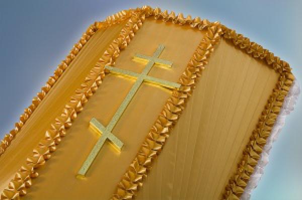 Крест на гроб металл