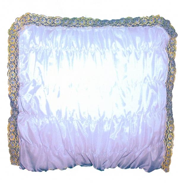 Подушка под голову шелк спандекс