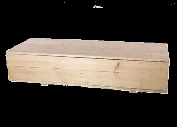 Гроб оцинкованный