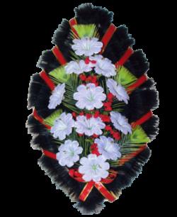 Венок из искусственных цветов Стандарт 90-6