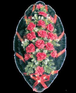 Венок из искусственных цветов Стандарт 110-4