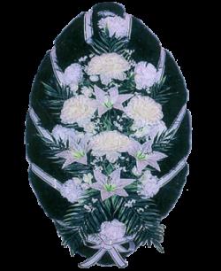 Венок из искусственных цветов Стандарт 110-5