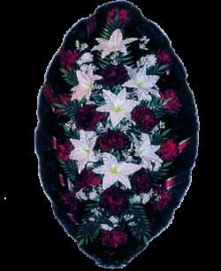 Венок из искусственных цветов Стандарт 140-1