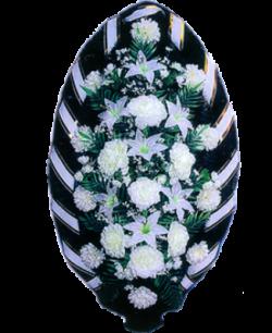 Венок из искусственных цветов Стандарт 140-2