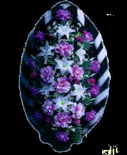 Венок из искусственных цветов Стандарт 140-3