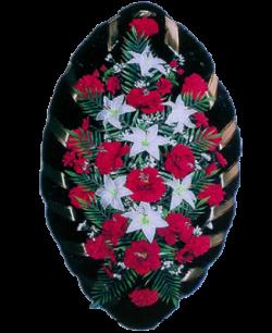 Венок из искусственных цветов Стандарт 140-4