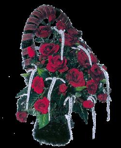 Корзина из искусственных цветов Элитная-3