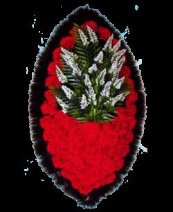 Венок из искусственных цветов Заказ 90-1