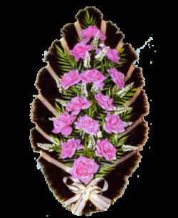 Венок из искусственных цветов Заказ 90-2