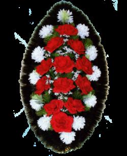 Венок из искусственных цветов Заказ 90-4