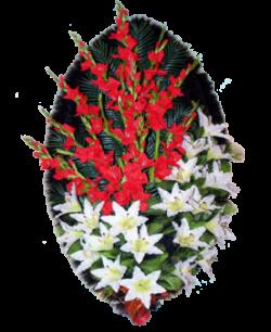 Венок из искусственных цветов Заказ 140-5