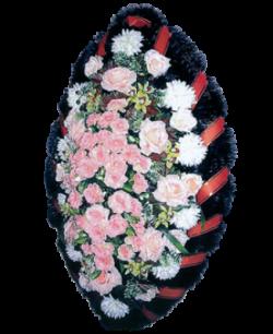 Венок из искусственных цветов Заказ 140-7
