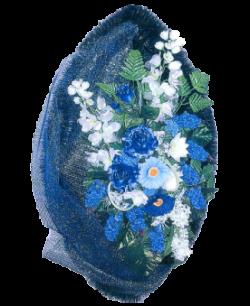 Венок из искусственных цветов Элит 110-1