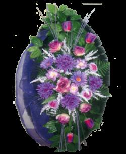 Венок из искусственных цветов Элит 110-7