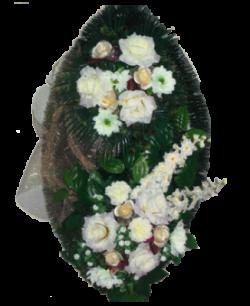 Венок из искусственных цветов Элит 110-8