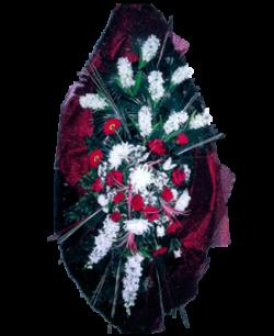 Венок из искусственных цветов Элит 180-1