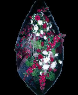 Венок из искусственных цветов Элит 180-2