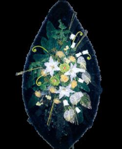 Венок из искусственных цветов Элит 180-4