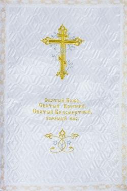 Покрывало атлас стежка «Крест»