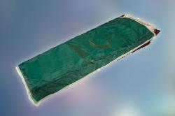 Покрывало атлас, с мусульманской символикой