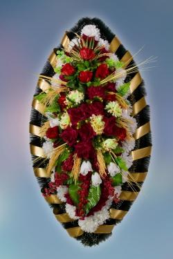 Венок из искусственных цветов Элит-13