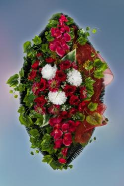 Венок из искусственных цветов Элит-15