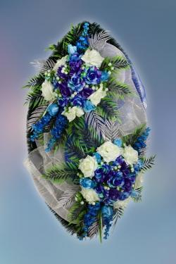 Венок из искусственных цветов  Элит-16