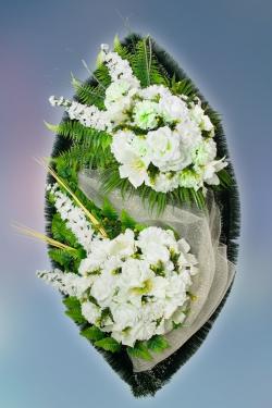 Венок из искусственных цветов Элит-19