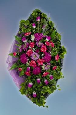 Венок из искусственных цветов Элит-2