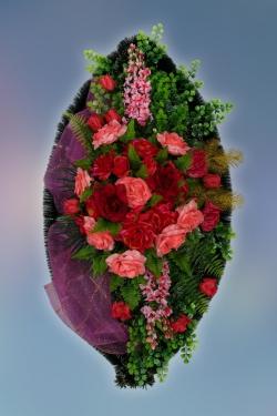Венок из искусственных цветов Элит-20