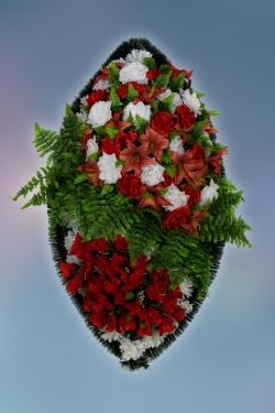 Венок из искусственных цветов Элит-25