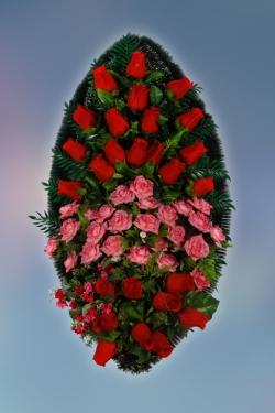 Венок из искусственных цветов Элит-26