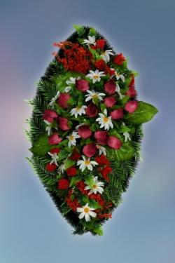 Венок из искусственных цветов Элит-29